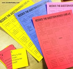 Using the RACE strategy is an effective way to help students answer constructed response reading questions. Grab these FREE Restate the Question puzzles on this post. Races Writing Strategy, Race Writing, First Grade Writing, Writing Strategies, Writing Activities, Student Teaching, Teaching Tips, Teaching Reading, Citing Text Evidence