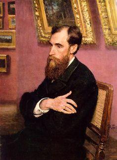 Portrait of Tretyakov (Ilya Repin)