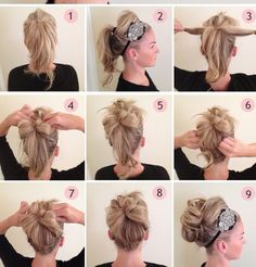 Step By Step Cute Hair Styles