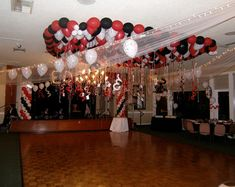 """We have the balloon theme for them. Popcorn Columns and Arches,Centerpieces designs highlight the """"at the movie"""" theme. Casino Party Decorations, Casino Theme Parties, Party Centerpieces, Party Themes, Balloon Decorations, Vegas Party, Casino Night Party, Vegas Theme, Casino Royale"""