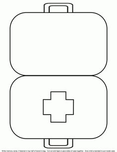 5 Best Images of Doctor Kit Printables For Preschool - Preschool Doctor Worksheets Printable, Doctor Bag Craft Template and Preschool Doctor Theme Preschool Bible, Preschool Activities, Community Helpers Preschool, Community Workers, Bible Story Crafts, Bible Stories, Sunday School Crafts, Kids Church, Worksheets For Kids