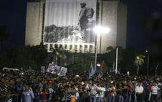 Fidel Castro death: Cuba holds commemoration in Havana