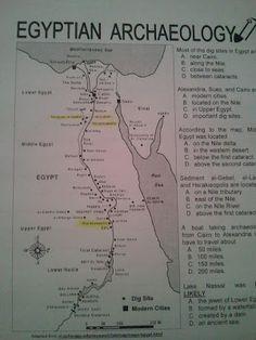 Worksheet ANCIENT EGYPT Latitude Longitude Questions Map - Map of egypt latitude and longitude
