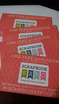 Would you like a chance to win two single day passes to a 2015 Scrapbook Expo event of your choice? I would love to give you some! All you need to do is use the hashtag #IWannaGoSBE  on your photos on Instagram. I am going to be searching for this hashtag all week. You never know when I will be on Instagram and will see your photo. You can't win if you don't enter! Scrapbook Expo, Free Shows, Mystery Box, Punch Art, Singles Day, Long Weekend, Happy Friday, Paper Crafts, Stamp