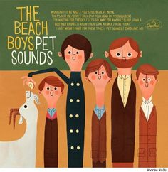Alternative Cover for The Beach Boys Pet Sounds by Andrew Kolb