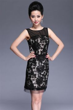 Karen Millen KC019 Beautiful Dress Black