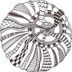 Zentangle made by Mariska den Boer 10