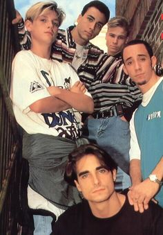 Backstreet Boys looking young (makes me feel old lol)