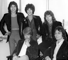 The Raspberries at Capital Records in LA 1971
