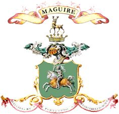 jacobs coat of arms ireland | jim s irish family surnames m aguire h eraldry a few important facts ...