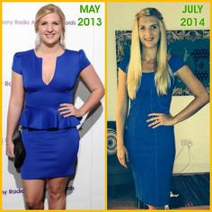 Olympic swimmer Rebecca Adlington's weight loss - find out how she lost more than two stone for her wedding, plus the before and after photos!