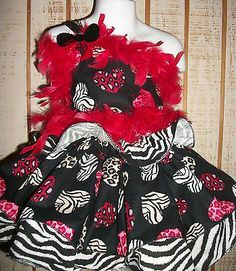 National Pageant Valentine Casual Wear OOC size 4/5/6