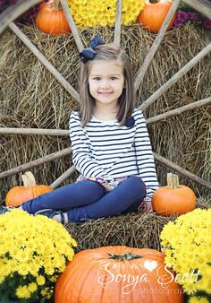 Fall Mini Session - Sonya Scott Photography Fall Photography with Children Pumpkin Photo