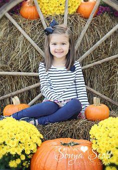 Fall Mini Session - Sonya Scott Photography Fall Photography with Children Pumpkin Photo