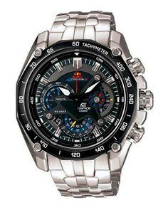 Relógio Estilo Casio Edifice Red Bull EF-550RBSP-1AV