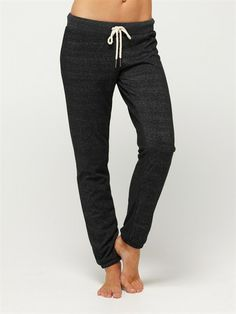 Skinny sweatpants. For running in the winter! Winter Mood Pants by Roxy.