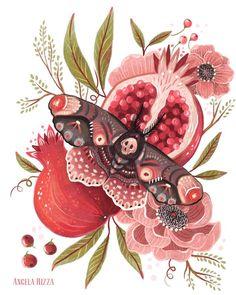 Angela Rizza Illustration - very Persephone.