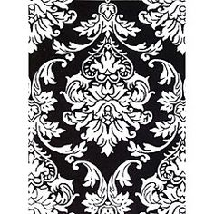 @Overstock.com - Hand-tufted Quill Feather Black/ White Wool Rug (8' x 10') - Get a transitional look in your hallway with this decorative hand-tufted rug. Featuring a thick pile and a hardy wool weave, this rug is great for high-traffic areas. The Oriental pattern will attract attention, ensuring everyone is aware of your taste.  http://www.overstock.com/Home-Garden/Hand-tufted-Quill-Feather-Black-White-Wool-Rug-8-x-10/5016958/product.html?CID=214117 $320.99