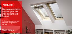 Save money on your new VELUX windows by shopping at Sterlingbuild.