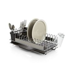 Sabatier Dish Rack Impressive Simplehuman Steel Frame Dishrack $70  Products I Love  Pinterest Design Ideas
