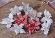 """Царевна - Лягушка: """"Расцвели в саду моём цветочки..."""" - """"Лилии и Пуансетия""""!"""