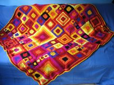 The Adventures of the Gingerbread Lady...beautiful afghan!