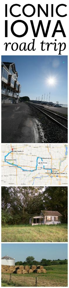 Iowa as an unlikely United States travel destination - perfect for a family road trip
