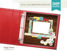 FREE Download - We Are...Family Sn@pbooking Guide - Scrapbook.com