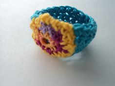 Crocheting Your Fingers : ... Crochet Rings ? on Pinterest Crochet rings, Wire crochet and Rings