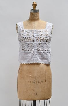 Time Keepers Camisole / Victorian inspired camisole / vintage romantic top