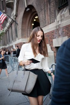 They Are Wearing: New York Fashion Week Spring 2013 - WWD.com