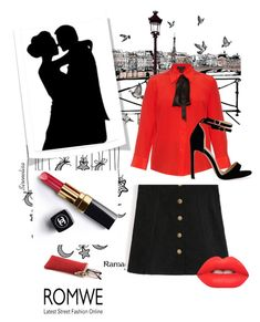 """""""Dating in Paris"""" by shushahandmade ❤ liked on Polyvore featuring Marc Jacobs, Chanel and Lime Crime"""