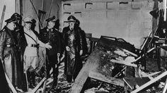 Am 20. Juli 1944 detonierte die Bombe, die Claus Schenk Graf von Stauffenberg deponiert hatte, in dem Besprechungsraum, in dem sich auch Hitler befand
