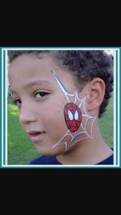 Image result for avengers face paint