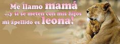 Nueva #Portada Para Tu #Facebook   Mama Leona    http://crearportadas.com/facebook-gratis-online/mama-leona/