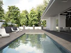 Dlažby pro wellness, terasy a bazény