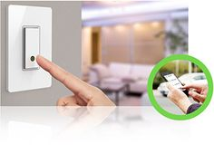 A light switch you can program from your phone!