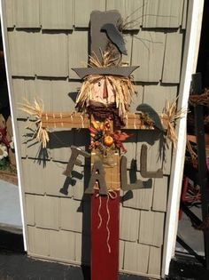 Fall scarecrow, too cute!!