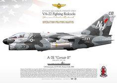 LTV A-7E Corsair II VA-22