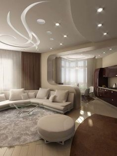 7 Amazing Cool Tips: False Ceiling Living Room Colour false ceiling design office.False Ceiling Design With Wood false ceiling design lamps. False Ceiling Living Room, Ceiling Design Living Room, Living Room Interior, Living Room Designs, Living Rooms, Easy Home Decor, Home Decor Trends, Decoration Faux Plafond, Salas Home Theater