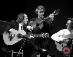 Paco de Lucía, Manolo San Lúcar e Isidro Muñoz 55x70 #270€ #music #photo #flamenco