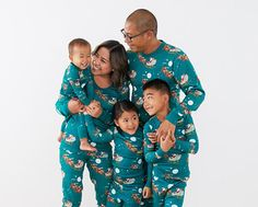 Matching Family Holiday Pajamas PJ's Jammies — The Overwhelmed Mommy Mommy And Me Outfits, Toddler Outfits, Boy Outfits, Matching Family Holiday Pajamas, Women's Long Johns, Girls Clothes Shops, Holiday Outfits, Holiday Clothes, Baby Kids Clothes