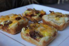 Homestyle Breakfast Bites #puffpastry