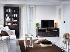 Un salón para acurrucarse y disfrutar