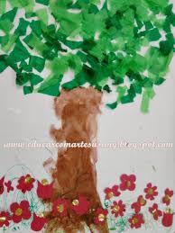 Image result for arvore da primavera na creche