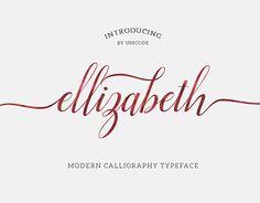 "Check out new work on my @Behance portfolio: ""Ellizabeth Script Typeface"" http://on.be.net/1ICqCKm"
