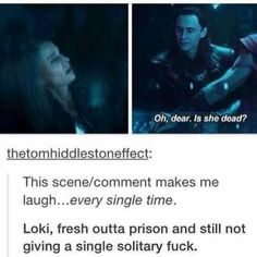 That's the old Loki for ya