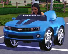 Fresh Prince Creations: Children's Pedal Chevy Camaro - Sims 3 Downloads CC Caboodle