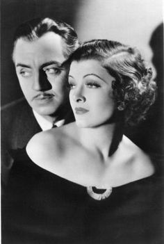 Thin Man Series. Nick and Nora Charles. Reporter: Say listen, is he working on a case? 