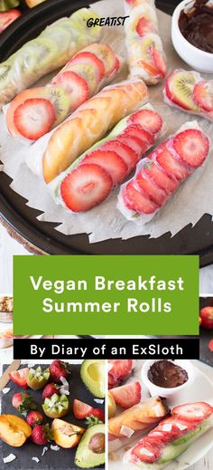 5. Vegan Breakfast Summer Rolls #healthy #avocado #recipes http://greatist.com/eat/healthy-avocado-recipes